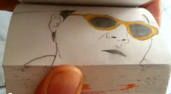 Video Mira El Gangnam Style A Través De Dibujos A Mano