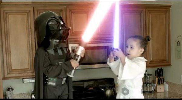 Resultado de imagen para niños starwars