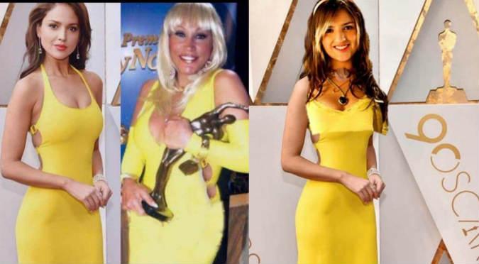 Eiza González Es Blanco De Memes Por Su Vestido En Los Oscar