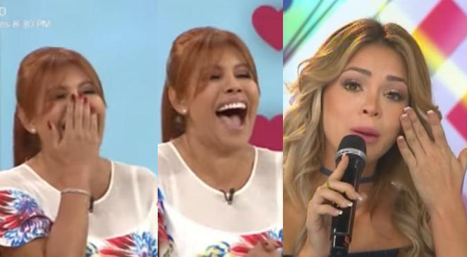 2e24304be7ca Magaly Medina se burló del anillo de Sheyla Rojas  (VIDEO ...